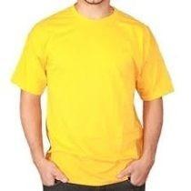 Camisa Amarela- Para Sublimação. 100% Poliester