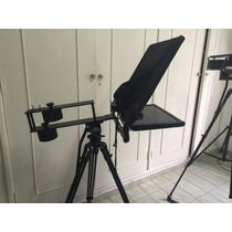 Teleprompter Profissional Com Monitor 18,5 Completo