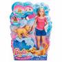 Barbie Baño De Perritos Original Importado!