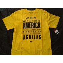 Remera Nike Club America De Mexico Futbol Importada