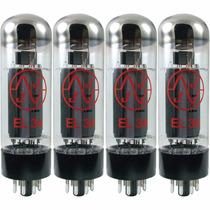 Valvulas El34 Jj Electronics (ex-tesla) Cuarteto Apareado