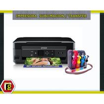 Impresora Epson Multifuncional + Sistema + Tinta Sublimación