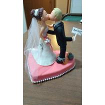 Adorno Para Torta Personalizado Para Casamiento, Novios