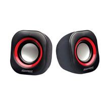 Caixa De Som - 4w Rms Vermelha / Roxa - Portátil - Maxprint