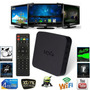 Smart Tv Box Quad Core Android 4.4 Netflix Youtube Wifi Mxv