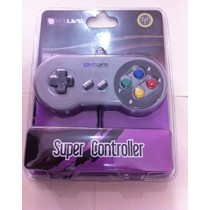 Excelente Control Para Consola Super Nintendo Snes