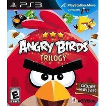 Angry Birds Trilogy Ps3 Nuevo Y Sellado