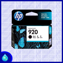 Cartucho Original Hp 920 Negro (cd971al)