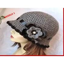 Gorro Para Dama Tejidos A Crochet