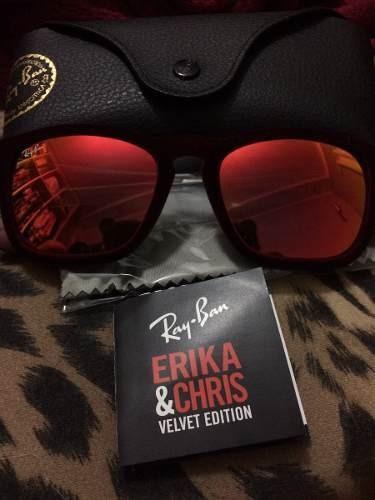 Oculos De Sol Espelhado Rayban Erika Original Veludo - R  279,00 em ... e9b63b4320