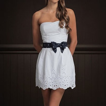 Vestido Hollister Branco Pp