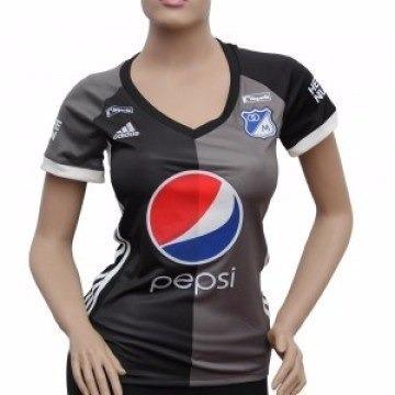 71ef016d106ff Camiseta Oficial Millonarios Mujer 100% Original Visitante -   55.000 en Mercado  Libre