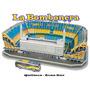 Estadio 3d. Maqueta Para Armar. Boca - La Bombonera Cancha