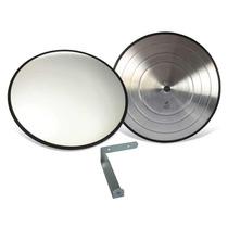 Espelho Convexo 60cm - Borracha - Estacionamento Ou Garagem