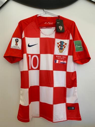 Camisa Croácia -  10 Modric - Final Copa Do Mundo 2018 - R  329 c8e076acb626c
