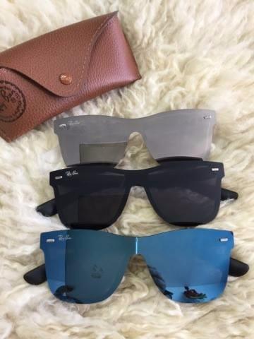 47943ce8c9223 Oculos De Sol Blaze Azul prata Ou Preto - R  100,00 em Mercado Livre