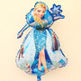 Globo Metalizado Gigante Caminante Elsa Frozen Disney Deco