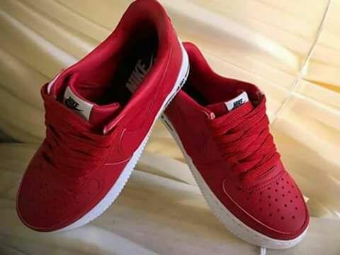 zapatillas nike de mujer rojas