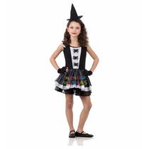 Disfraz Halloween Bruja Fashion Araña Blanca Mundo Manias