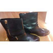 Botas De Cuero Zara Zapatos