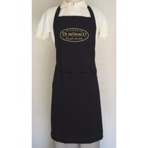 Avental De Peito Oxford Personalizado Bordado, Chef,cozinha