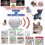 Ahuyentador Ultrasónico Para Ratas Ratones Y Roedores Y Mas