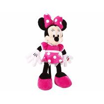 Boneco Minnie Rosa Mickey Disney Pelúcia Importada 50 Cm