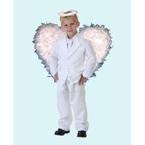 Disfraz De Angel Blanco Para Niño Pastorelas Navidad