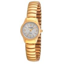 Relógio Mondaine Feminino Clássico Dourado 83144lpmnde1