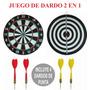 Juego De 4 Dardos Metalicos Punta Tiro Al Blanco 2 En 1 Ypt