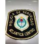 Escudo Parche Policia De Seguridad Atlantica Centro