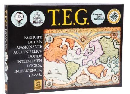 Juego De Mesa Teg 900 00 En Mercado Libre