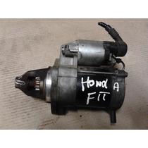 Motor De Arranque Ignição Honda Fit 2008 Autom. 1.4 Original