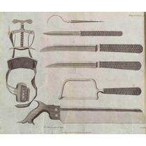 Lienzo Tela Cirugía En Arte Instrumenal Para Amputación 1806