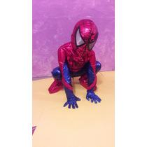 Disfraz. Traje Spiderman Para Niños! Tallas 4 A 10.fiesta!