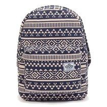 Mochila Backpack Vixen 2026 Azul Y Beige Handbags Hb Chenson