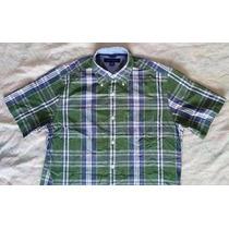 Exclusiva Camisa Tommy Hilfiger S/p Import Semi Nueva 9.5/10
