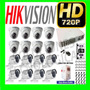 Kit 16 Camaras De Seguridad Hikvision Hd 720p Vea De Su Cel<br><strong class='ch-price reputation-tooltip-price'>S/. 2.900<sup>00</sup></strong>