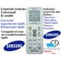 Controle Remoto Universal Ar-condicionado Split Samsung