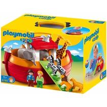 Retromex Playmobil 6765 Maletin 1.2.3 Arca De Noe Cuento