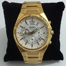 Relógio Orient Masculino/dourado Mgssc009 S2kx