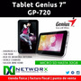 Tablet Android Genius 7 Hdmi Wifi Gp-720 Microsd 2 Camaras