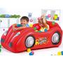 Auto Carro Inflable Deportivo Juegos Niños + 50 Pelotitas