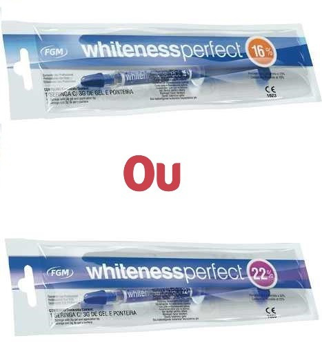 Gel Clareamento Dental Whiteness Perfect 16 Ou 22 Fgm R 24 98