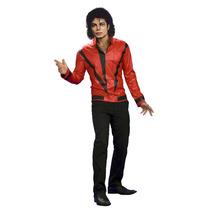 Disfraz De Michael Jackson Thriller Chaqueta Roja Talla M