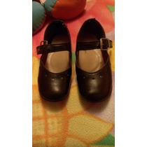 Zapatos Para Niña Con Pie Plano Nro. 26