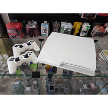 Playstation 3 Super Slim Branco 320gb Seminovo