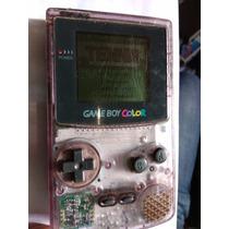 Game Boy Color Morado Transparente Con Juego Tennis