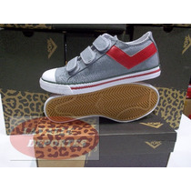 Zapatillas Pony Shooter Low Velcro Original Lavalledeportes