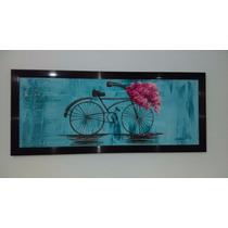 Cuadro Bicicleta Pintura Al Oleo